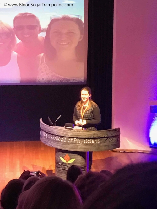 Presenter, Student and person with type 1 diabetes: Lydia Parkhurst