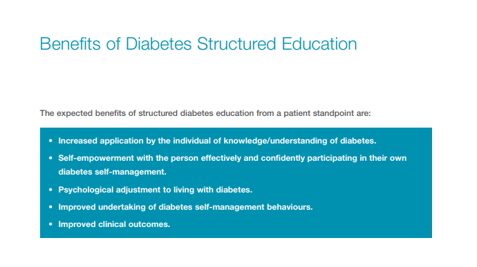 Page 6 of 2009 Review of diabetes structured education