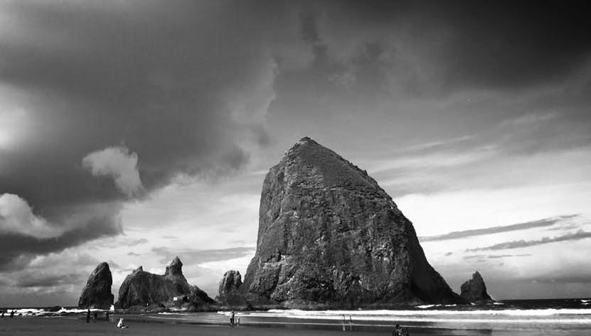 Haystack Rock,Oregon Coast, 2016