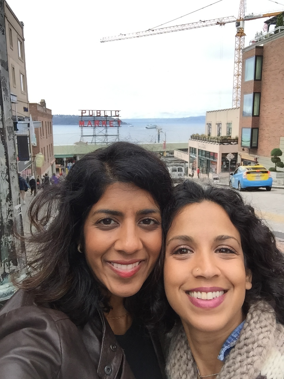 Naz and I in Seattle during a urogyn conference