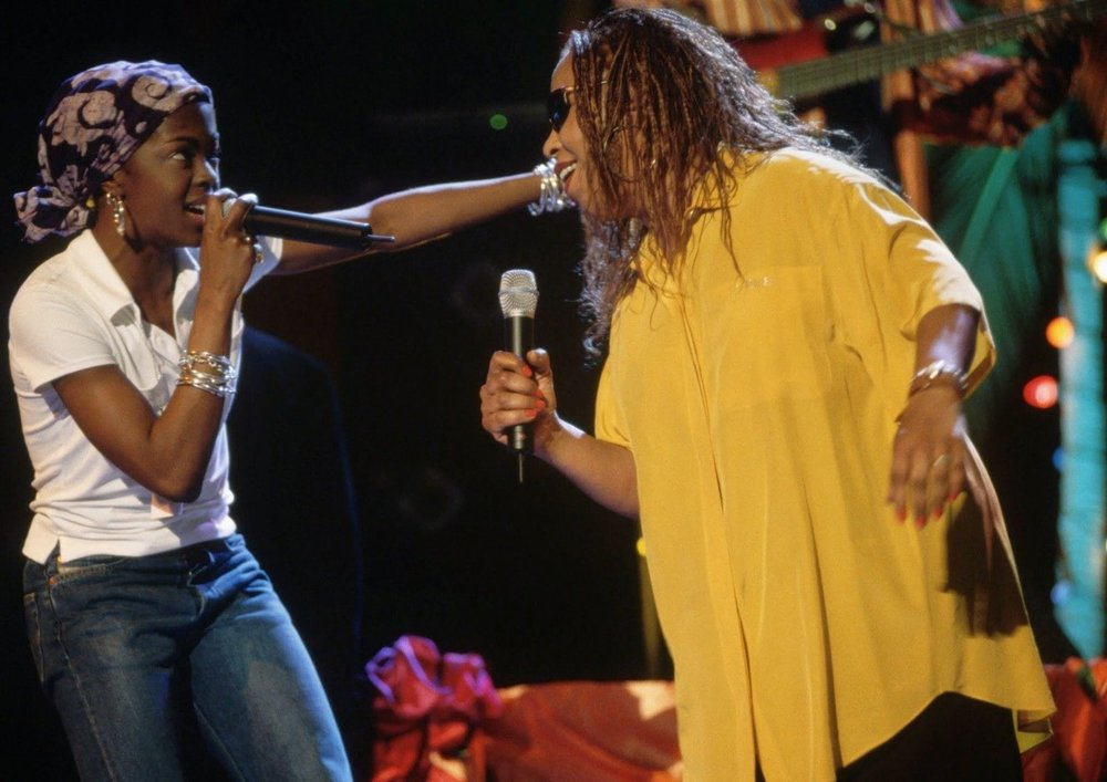 Photo Source:  Lauryn Hill and Roberta Flack killin' it softly