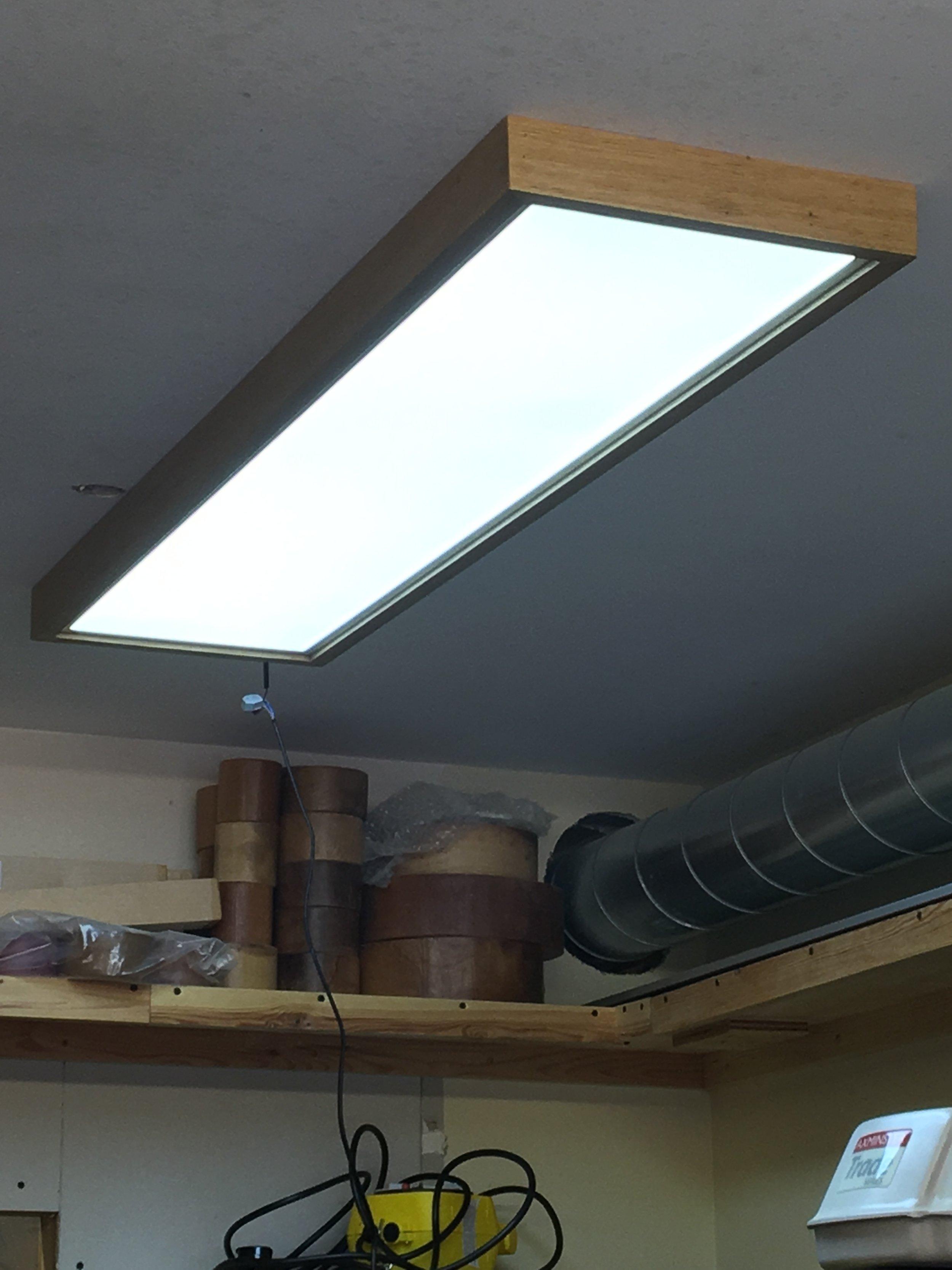 Workshop garage led lighting diyjase workshop garage led lighting arubaitofo Choice Image