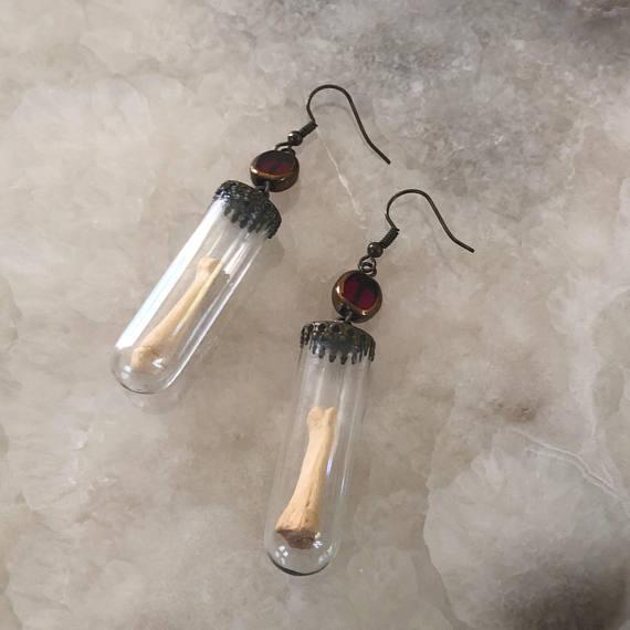 Ossuary Drop Earrings//$28.00