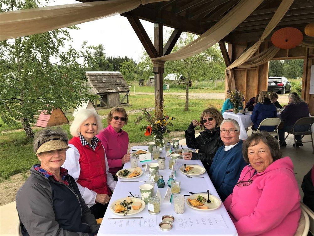 PLYC women at Sunfield Luncheon.jpg
