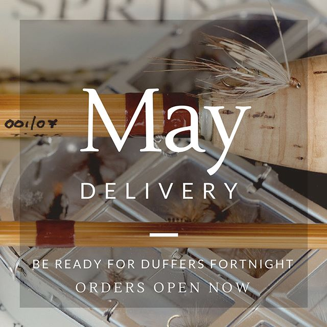 Taking orders for May delivery, in time for the 2018 mayfly season. Experience 'duffers fortnight' with the finest in traditional English split cane rods.  #flyfishing #troutfishing #mayflyseason #mayfly #splitcanerod #splitcaneflyrod #bambooflyrod #duffersfortnight #mayfishing #dryfly #flyreel #englishflyreel #silkline #silkflyline #madeindevon #gwgregory