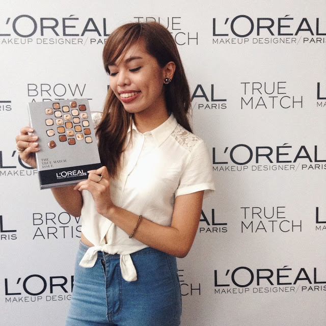 def6639bb75 Hey Hershey: Loreal True Match Media Event for the Perfect No Make Up Look  #FoundMyTrueMatch