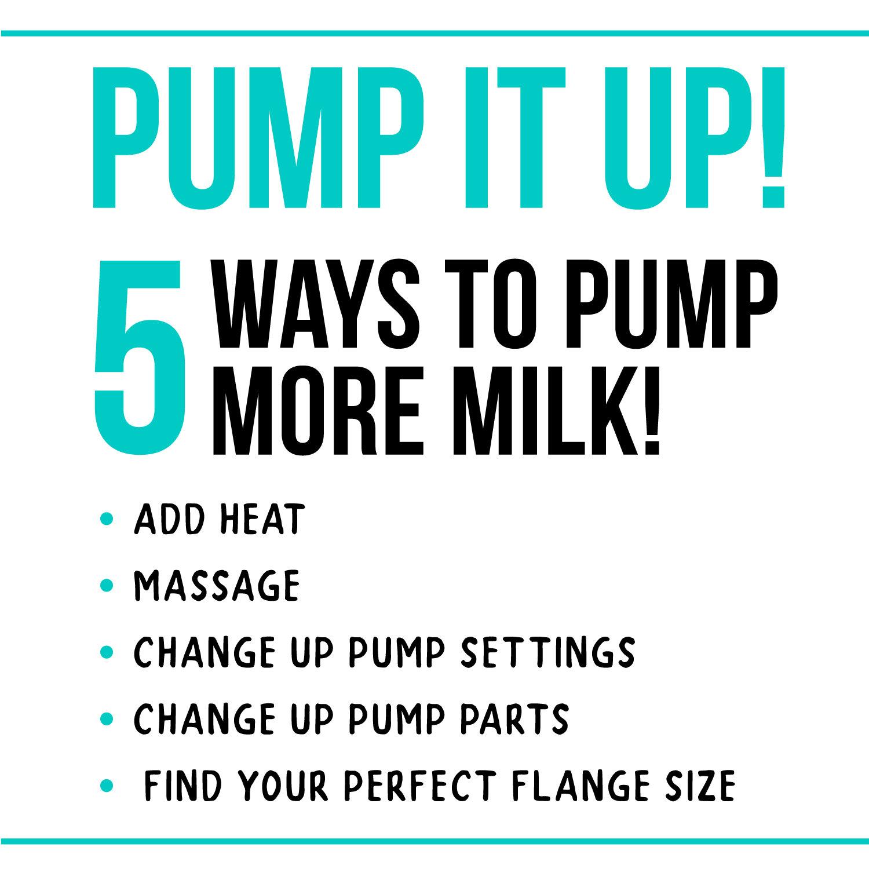 5 Ways To Pump More Milk Modern Milk Happy Mom Happy Baby