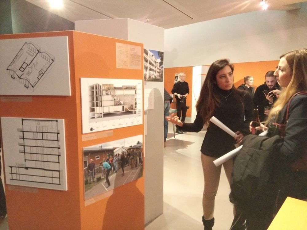 Bezoekers bij ARCAM tijdens 'Collective Comeback'