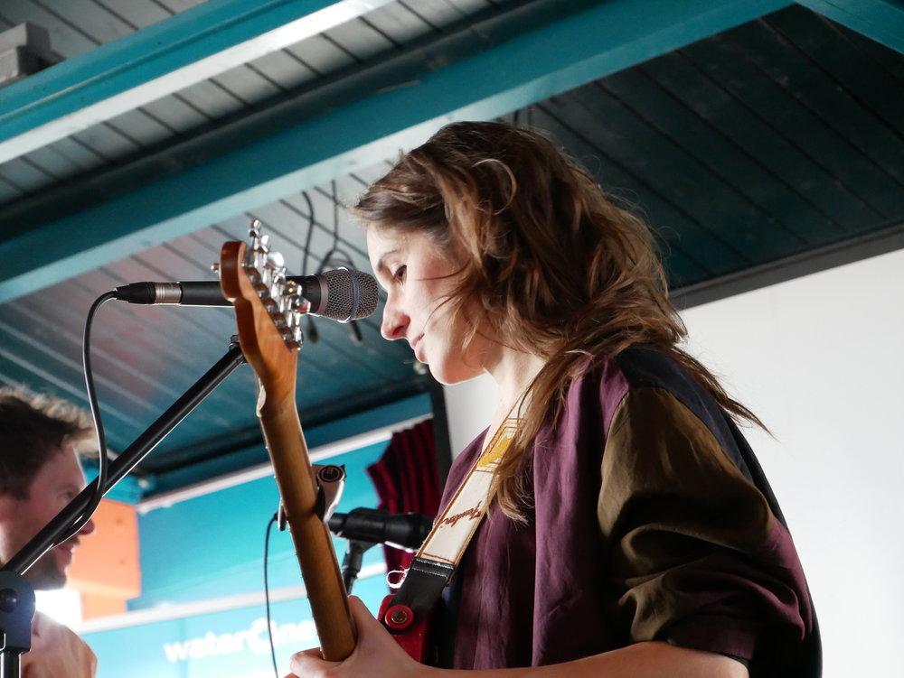 Lewin speelde prachtige muziek. Foto: Cripta Scheepers