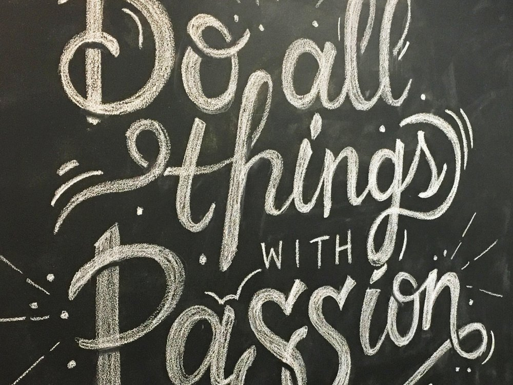 CPG Chalk Wall -