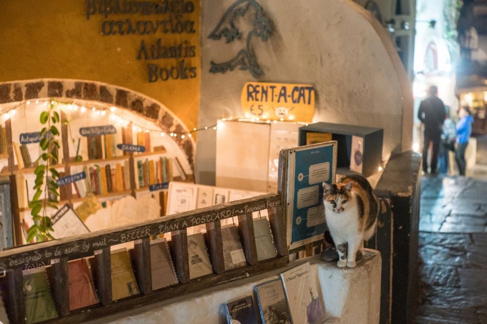 Atlantis Books, Oia, Santorini.  Sony A9, Leica 50mm f1.4 Summilux