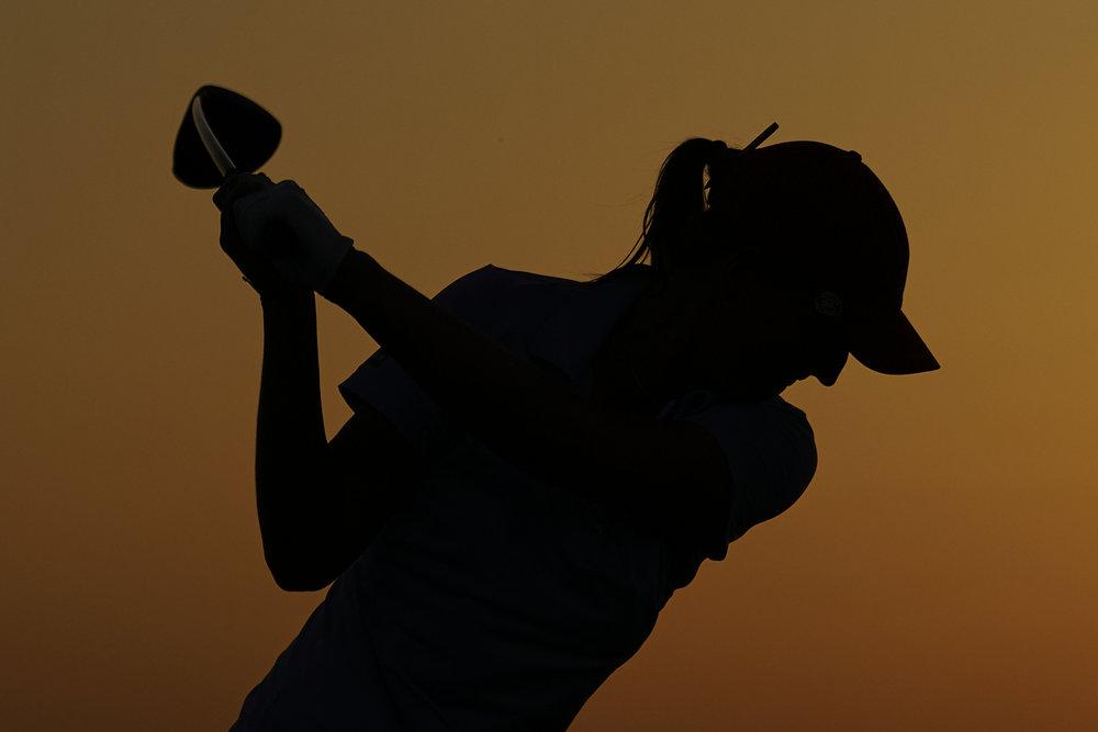 Perrine Delacour, 2018 VOA LPGA Texas Championship.  Sony A7rIII, Sony 70-200mm f2.8 GM-OSS.