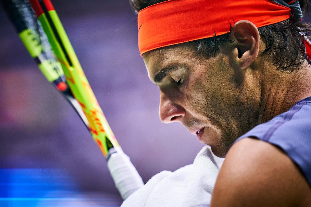 Rafael Nadal, Arthur Ashe Stadium, Men's Singles Semifinal  Sony A9, Sony 400mm f2.8 GM-OSS
