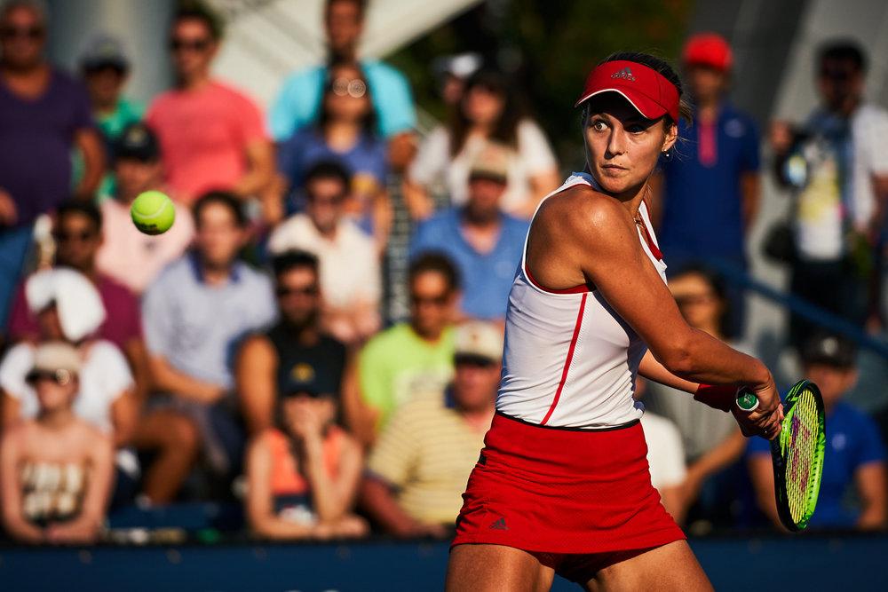 Vera Zvonareva, Court 4, Women's Singles Qualifying Round 4  Sony A9, Sony 70-200mm f2.8 GM-OSS