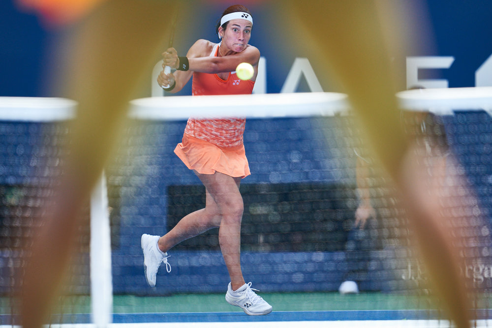Anastasija Sevastova, Arthur Ashe Stadium, Women's Singles Quarterfinal  Sony A9, Sony 400mm f2.8 GM-OSS