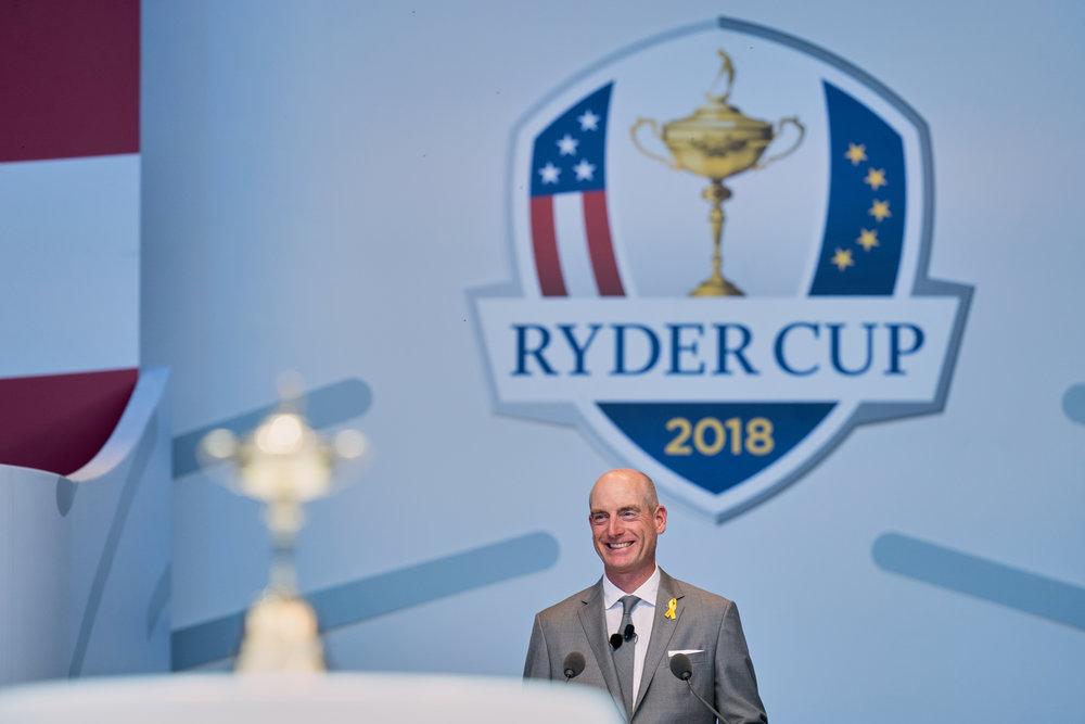 Jim Furyk, Opening Ceremony  Sony A9, Sony 400mm f2.8 GM