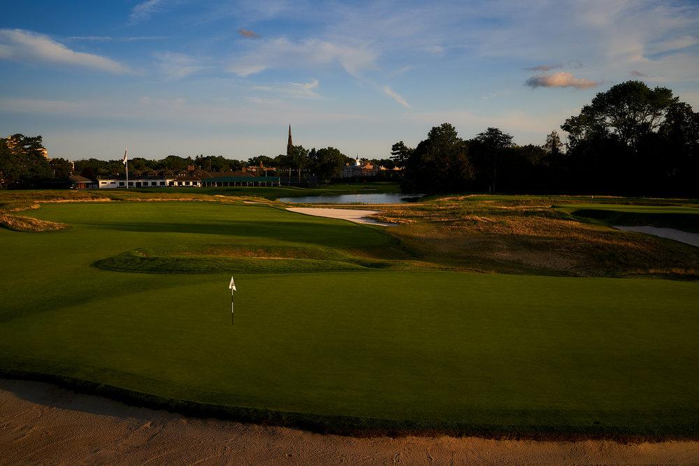 First green, The Garden City Golf Club, Garden City, New York.  Sony A7rIII, Sony 24-70mm f2.8 GM