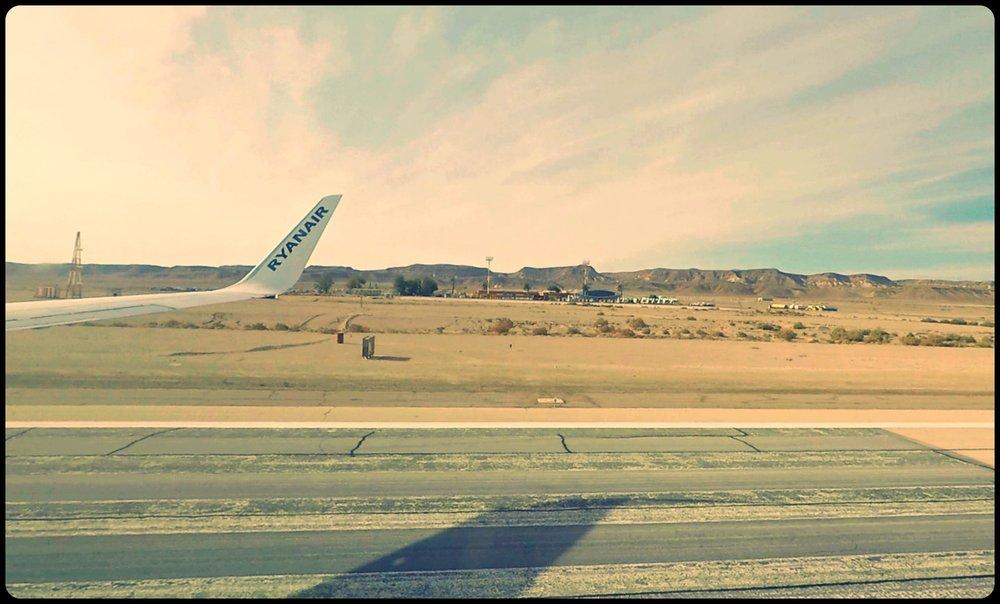 Airstrip at the Ovda Airport (Eilat)
