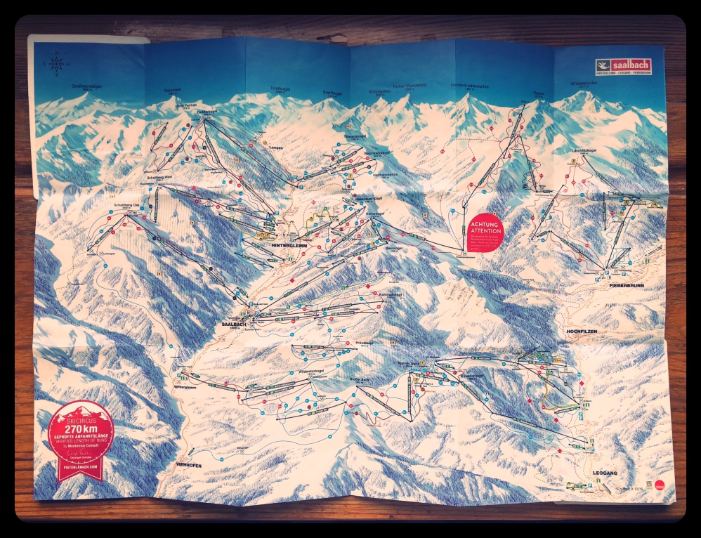 Skicircus Circuit map