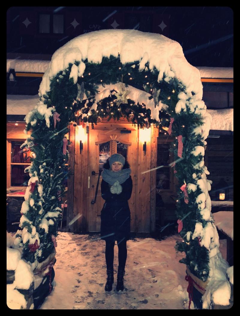 Wejście do restauracji Schattbergstube