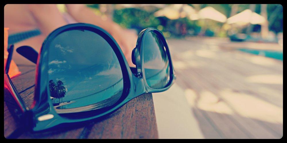 Okulary w takim słońcu to podstawa