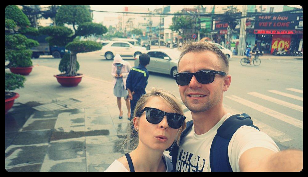 Na ulicach Ho Chi Minh