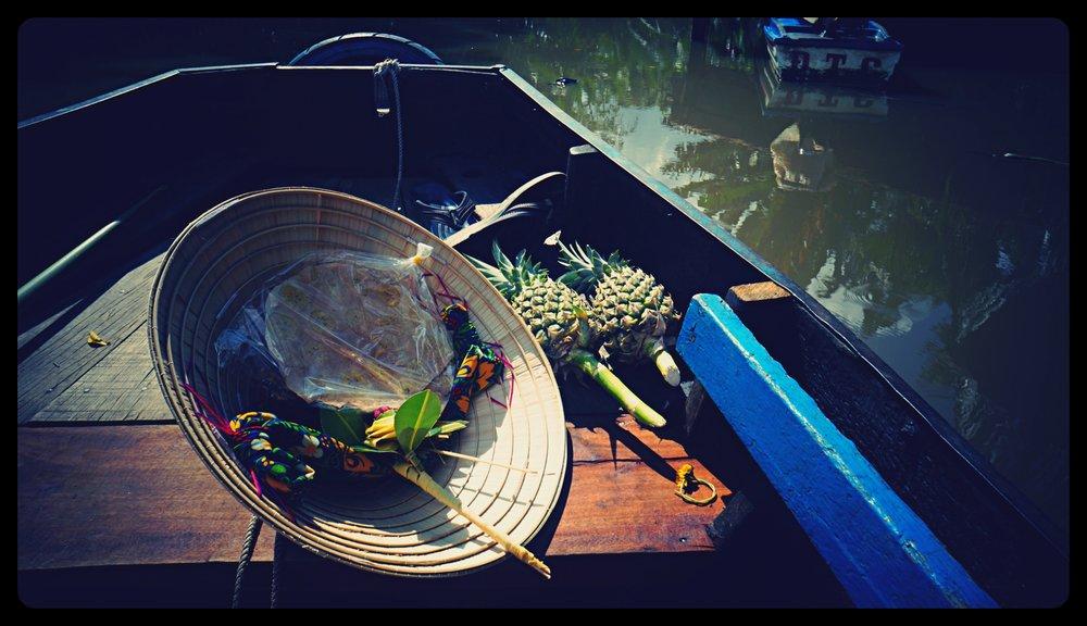 Na rzece Mekong
