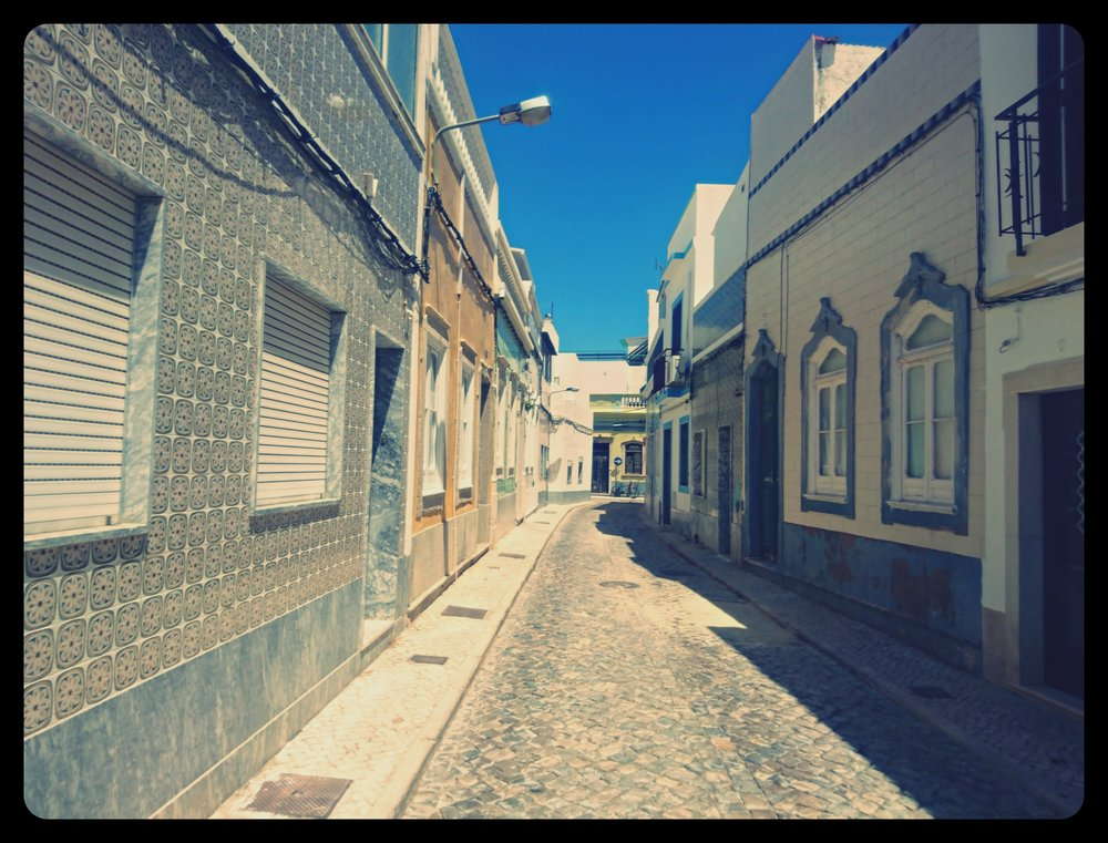 Charming streets of  Olhão