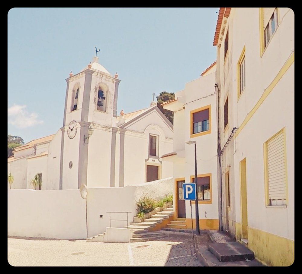 Uliczki miasteczka Aljezur