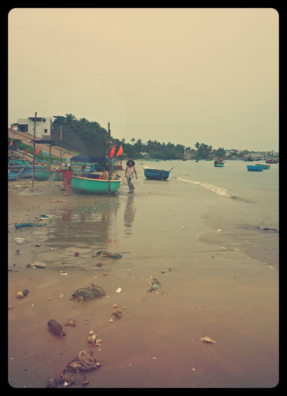 Wioska rybacka na skraju Mui Ne