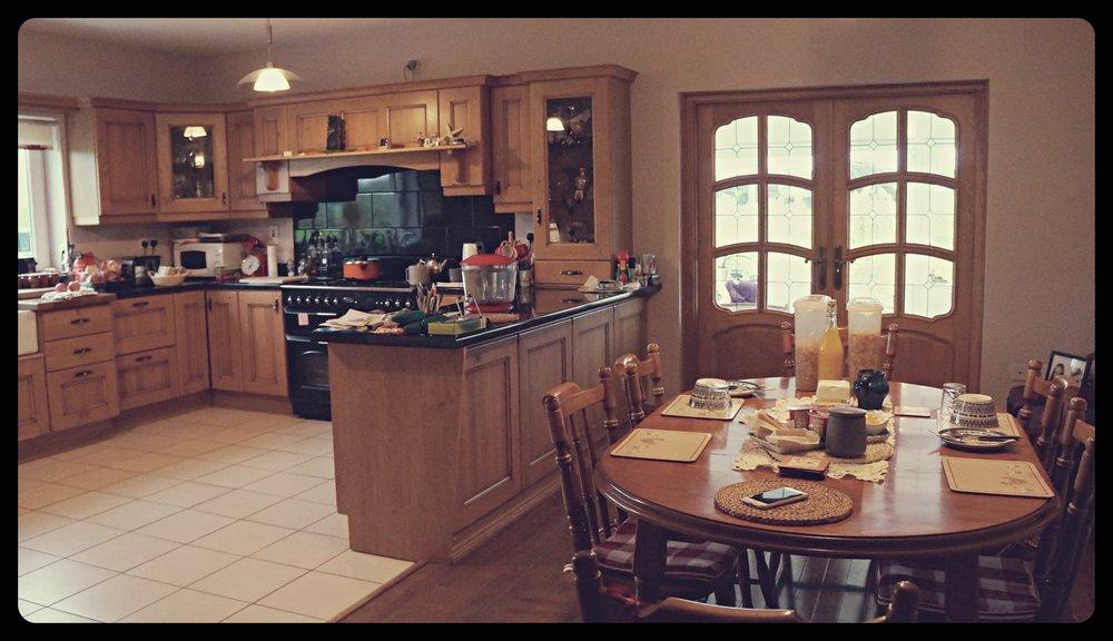 Pierwsze śniadanie w Irlandii