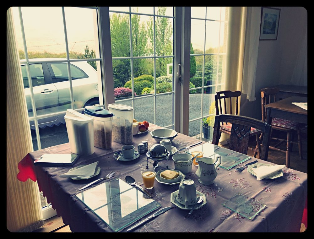 Breakfast in B&B Letterfrack