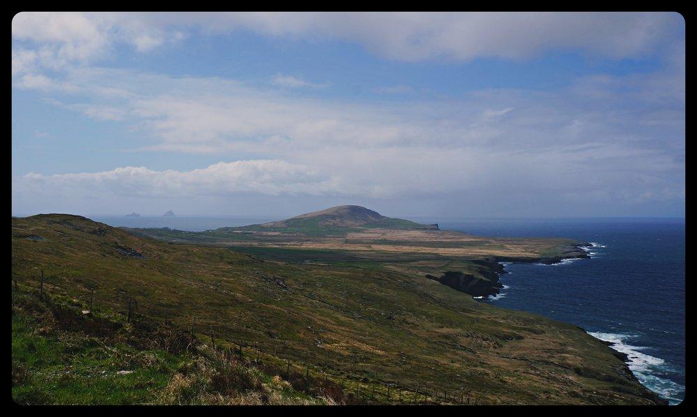 Ring of Kerry - wyspa Valentia