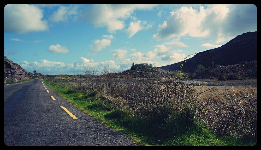 Droga do przełęczy Dunloe