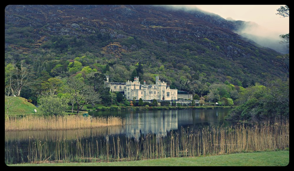 Castle in the Kylemore Abbey