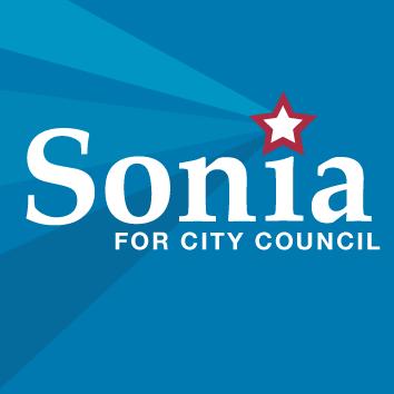Sonia for City Council - Logo - Square