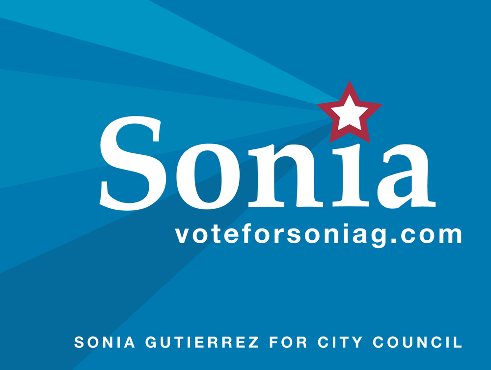 Sonia for City Council - Yard Sign