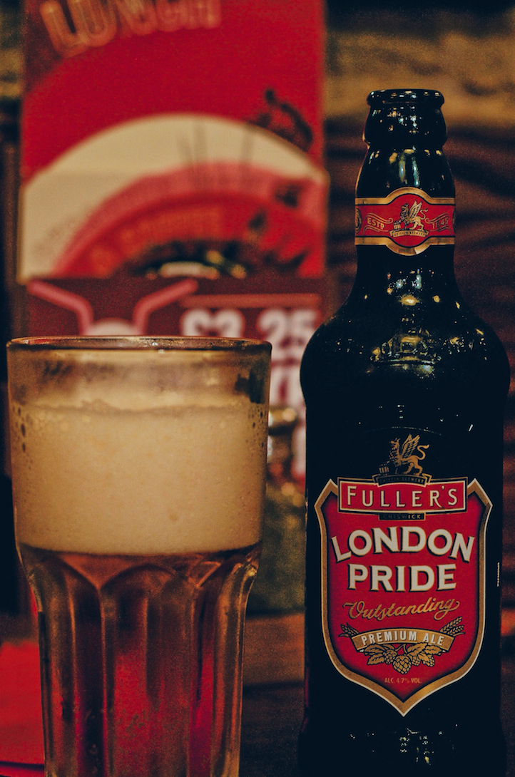 London Pride at Garfunkel's, London, England
