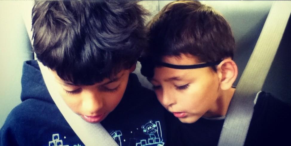 Aimee's boys, Tijuana, BC