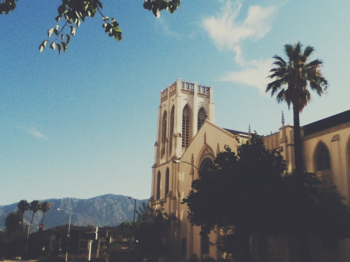 First congregational church, pasadena, california