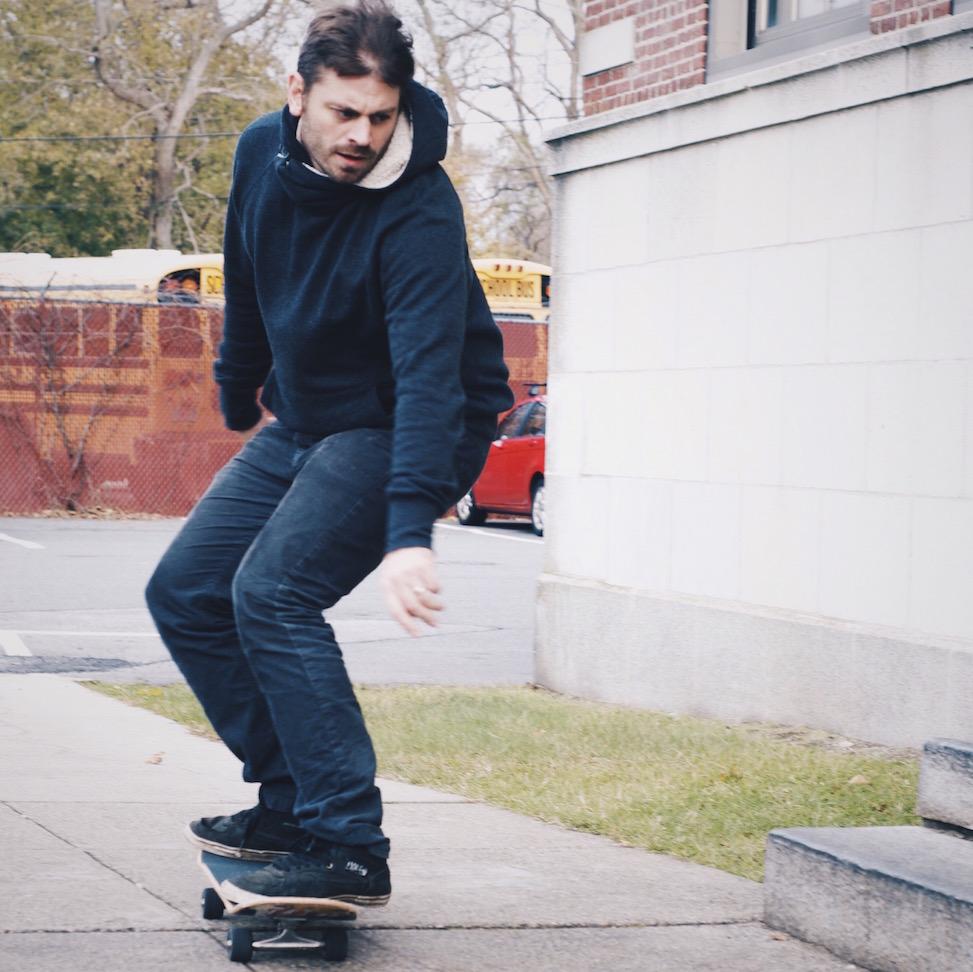 Brian skating, Beverly Farms, Massachusetts