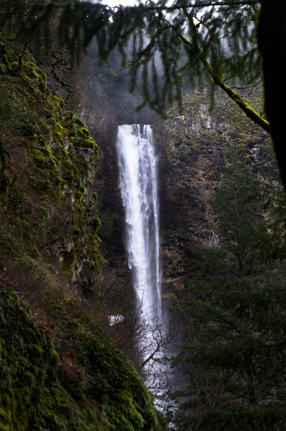 Bridal Veil, multnomah falls, oregon
