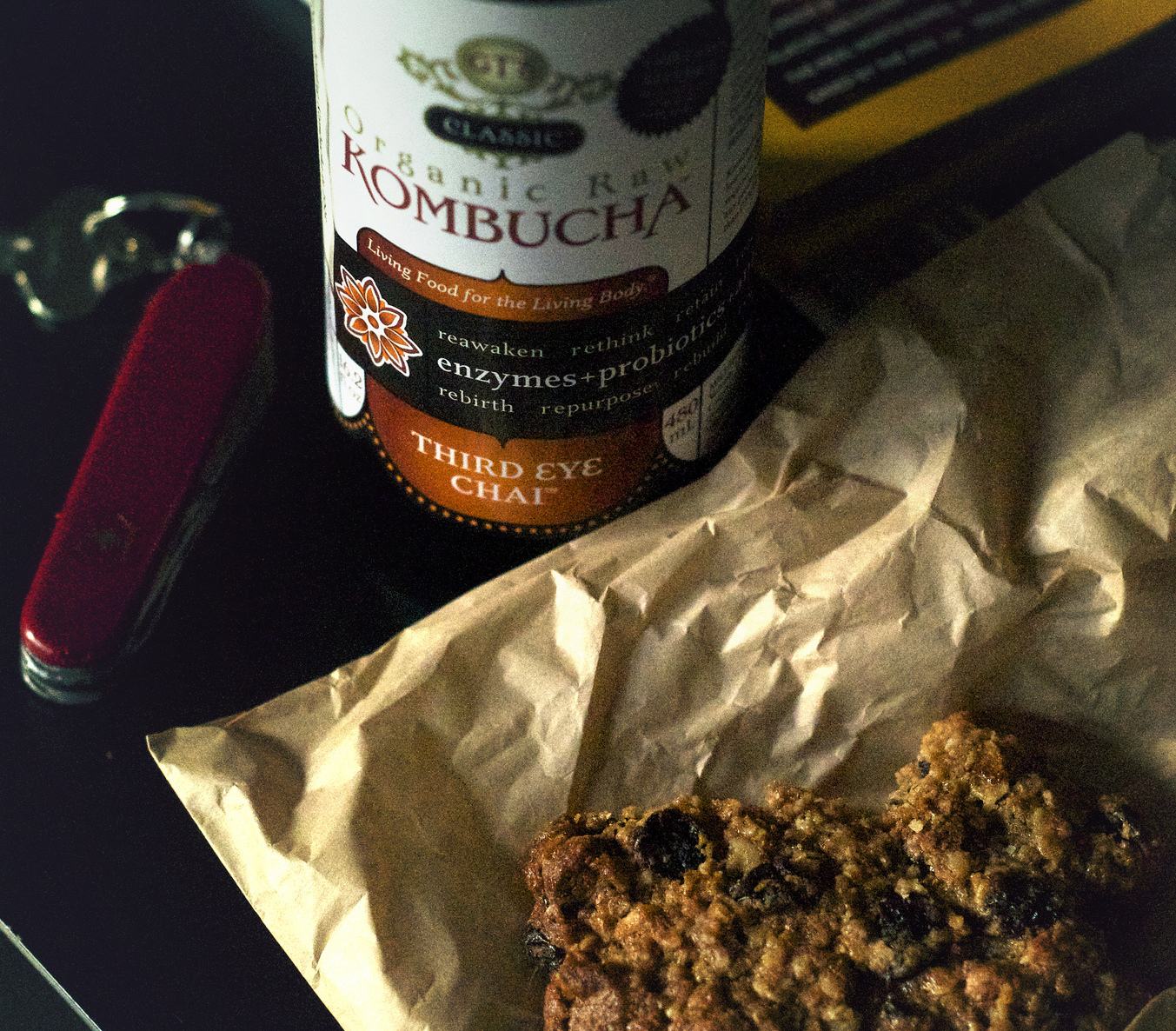 Kombucha + cookie, Portland, Oregon