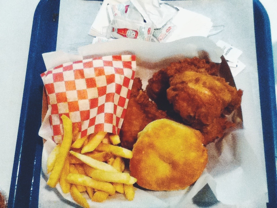Honey's Kettle-Fried chicken, Culver City, los angeles, california
