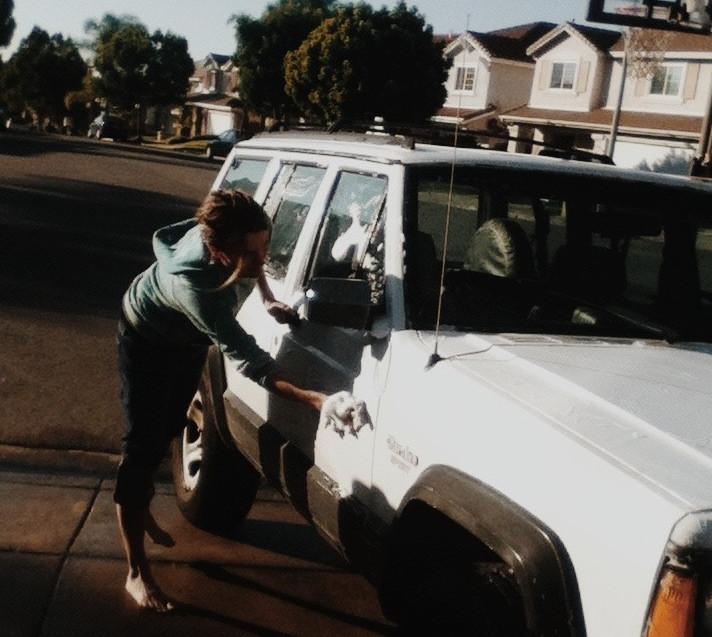 travel, story, nomadic life, california, jeep cherokee