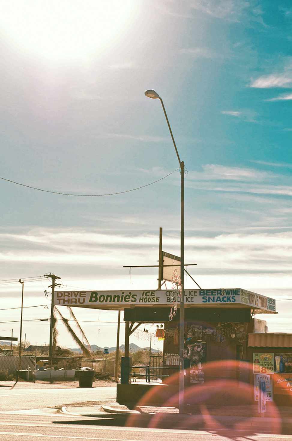 Bonnie's ice house, gila bend, arizona