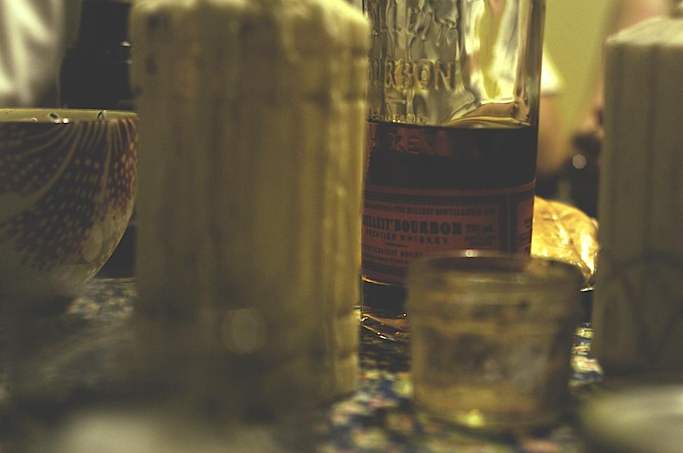 Bulleit bourbon, hoelzen house, phoenix, arizona