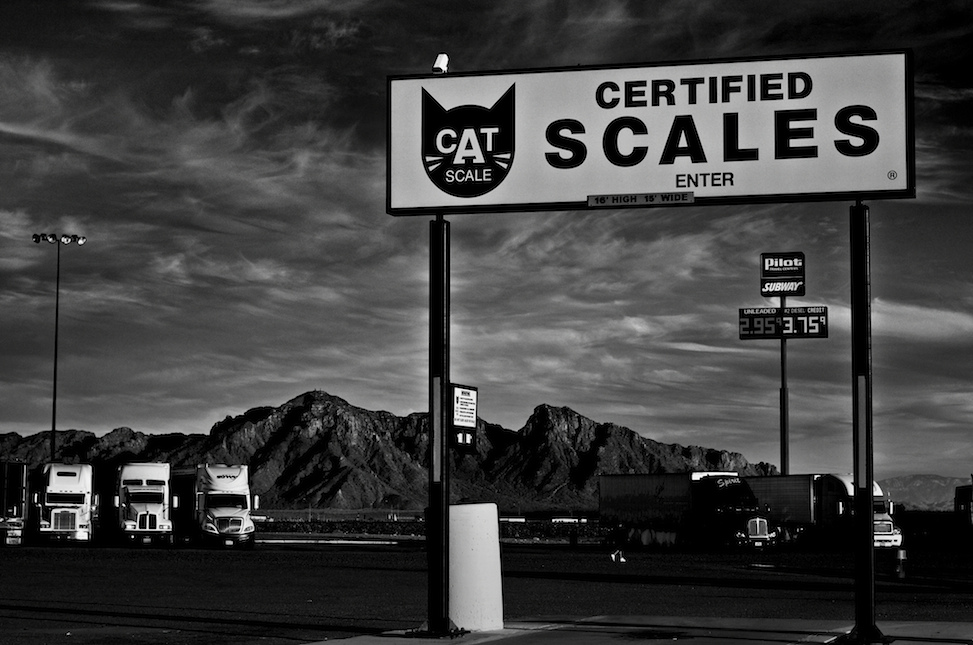 CAT scales, gila bend, arizona
