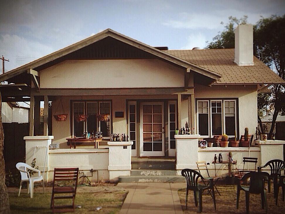 Hoelzen House post-party, phoenix, arizona