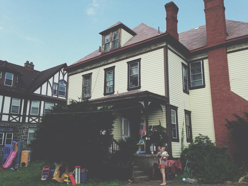 House on Emily Street, pittsburgh, pennsylvania